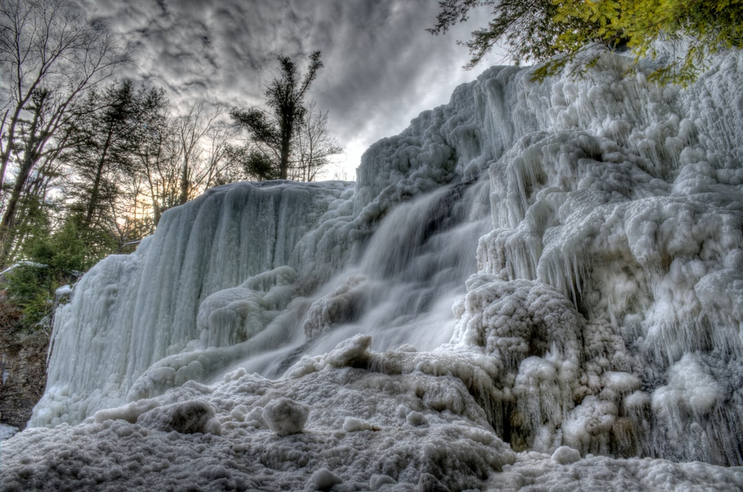 Muddy Creek Falls in Maryland aft the historic cold in January 2014