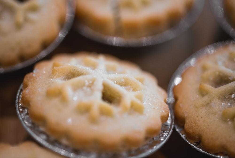 selective focus photo of cookies