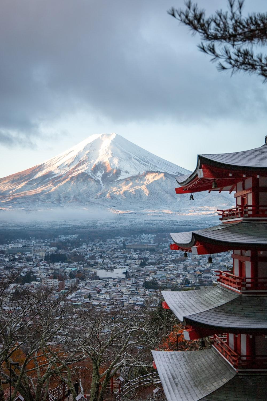 Mt. Fuji landamrk