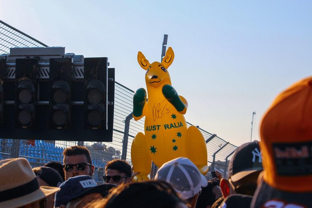 kangaroo standee