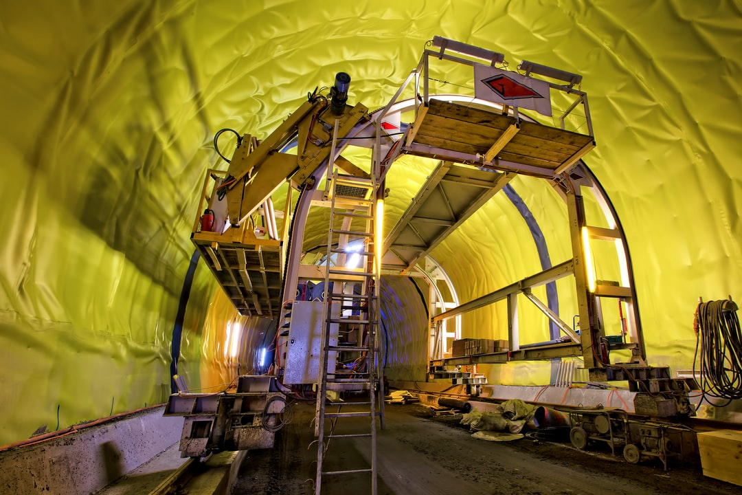 Tunnel waterproofing with Sikaplan