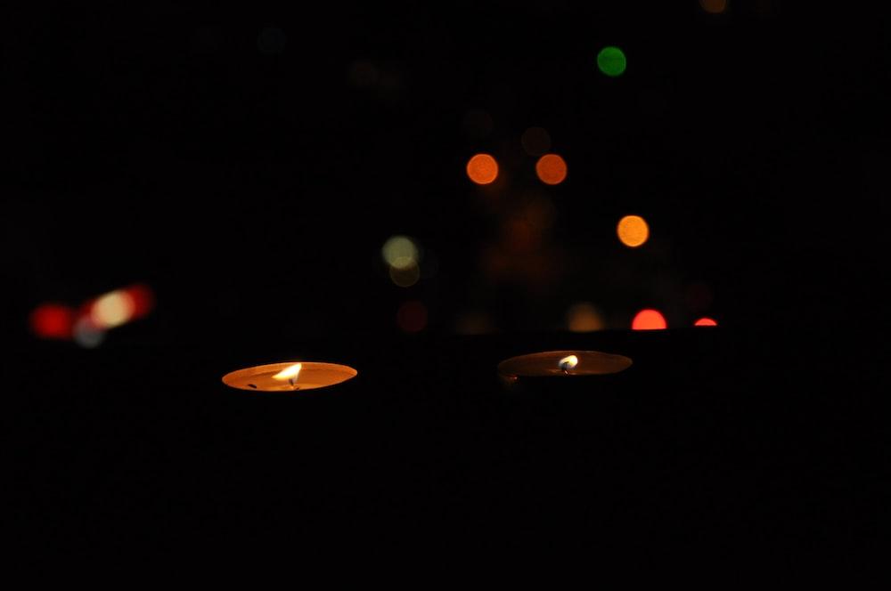 lit tealights