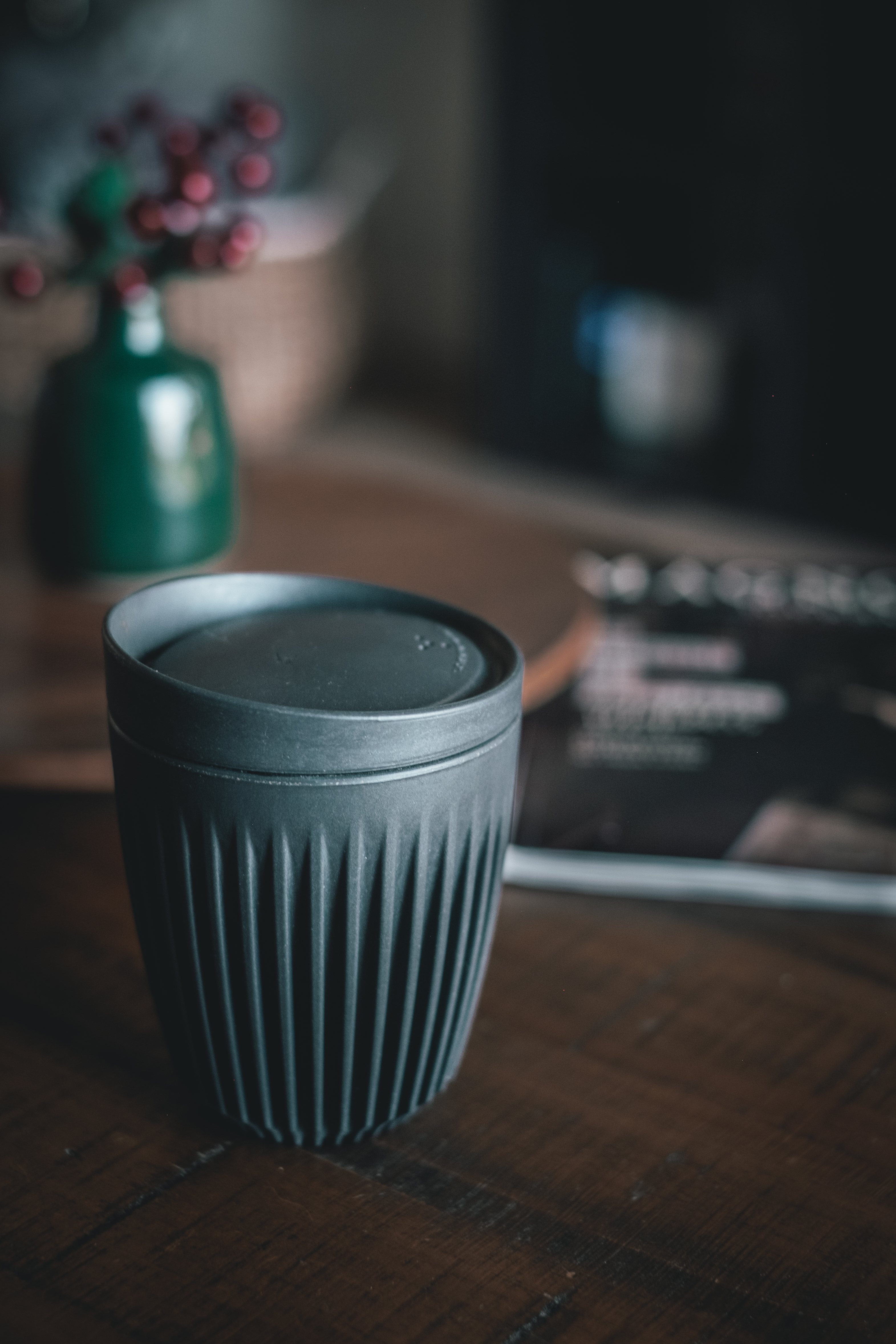 Huskee Cup, my favorite new coffee cup. This takeaway cup is made from organic coffee husks and is a great replacement for those single use takeaway cups.