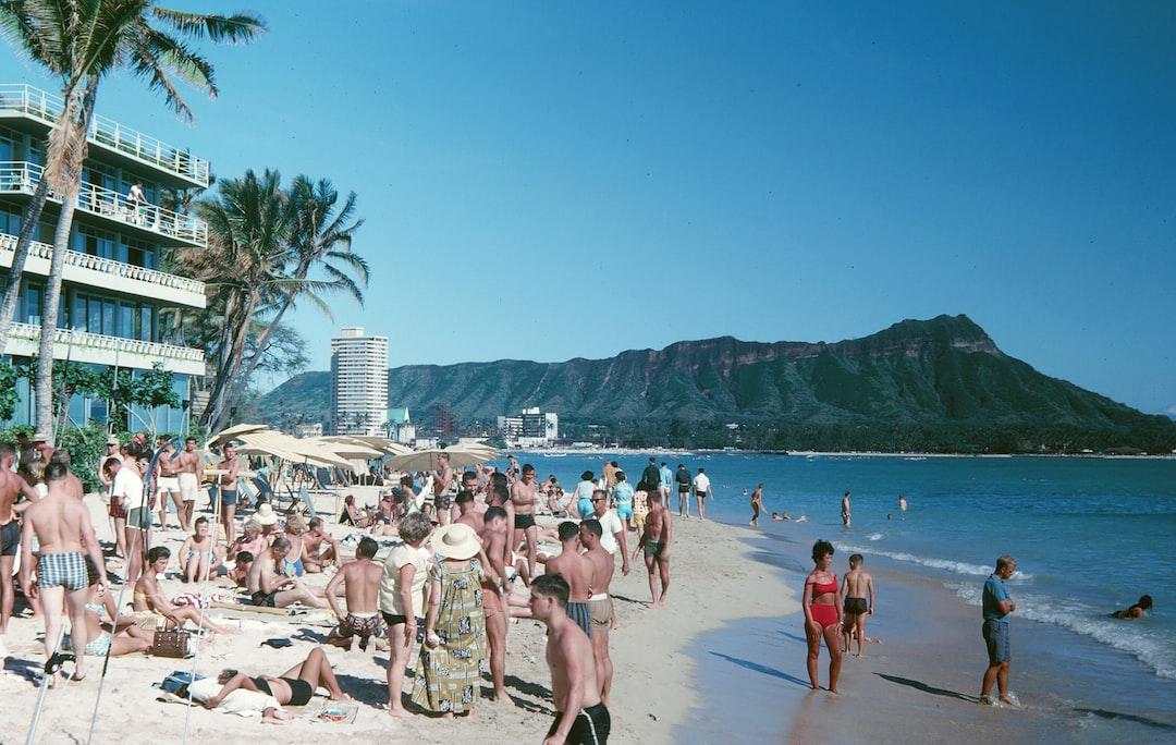 1960's Hawaiian Beach