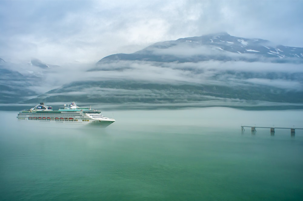 white cruise ship on body of water during daytime