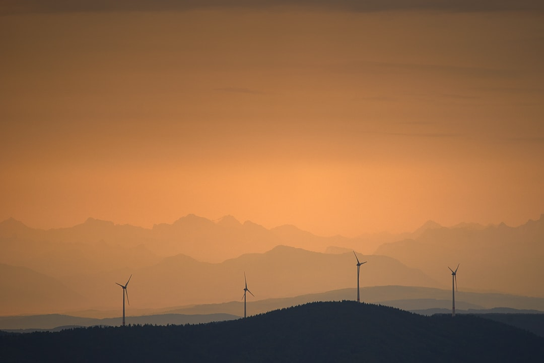 Windmills for alternative Energie
