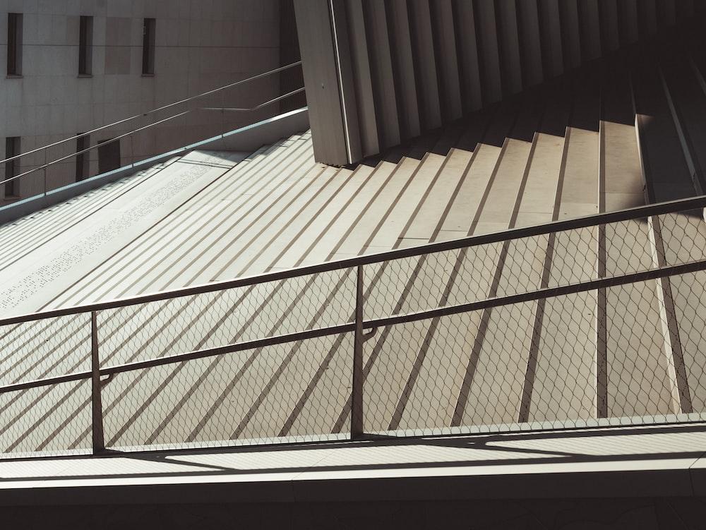 closeup photo of stairs