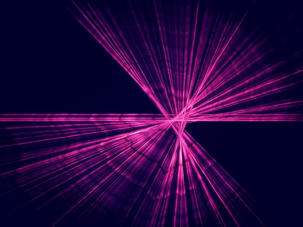 purple strobe lights