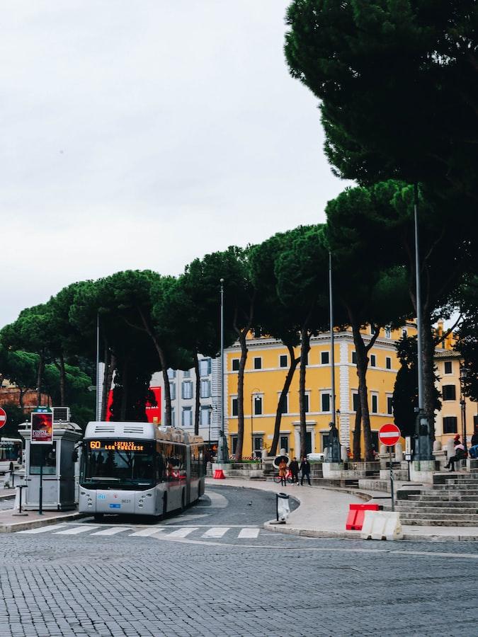 A bus in Rome