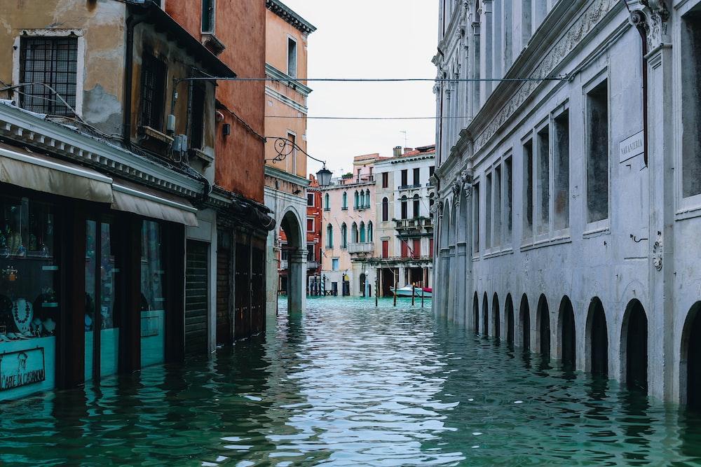 flood at Venice Italy