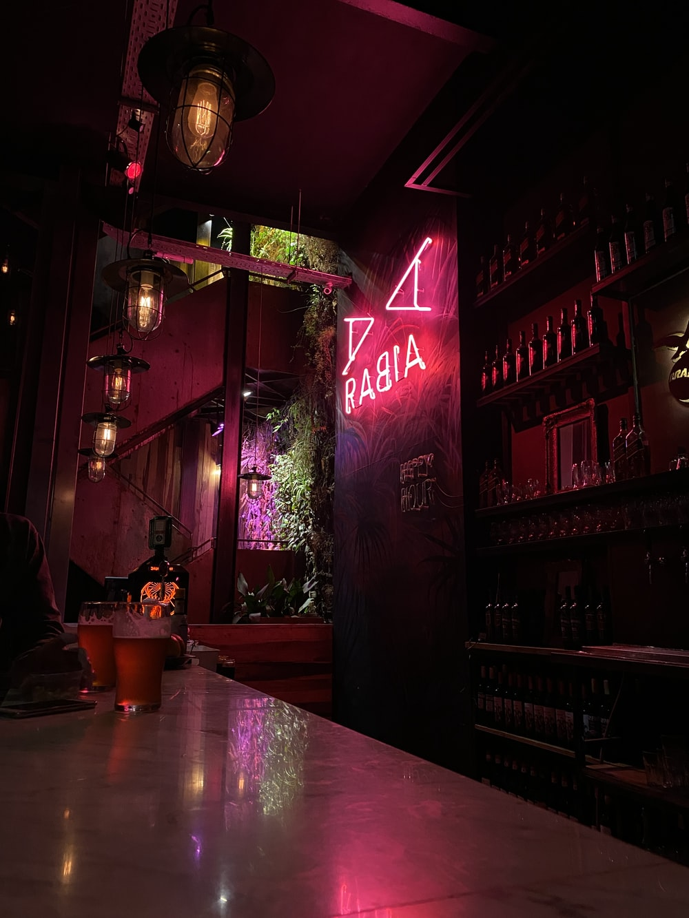 pink Babia neon sign