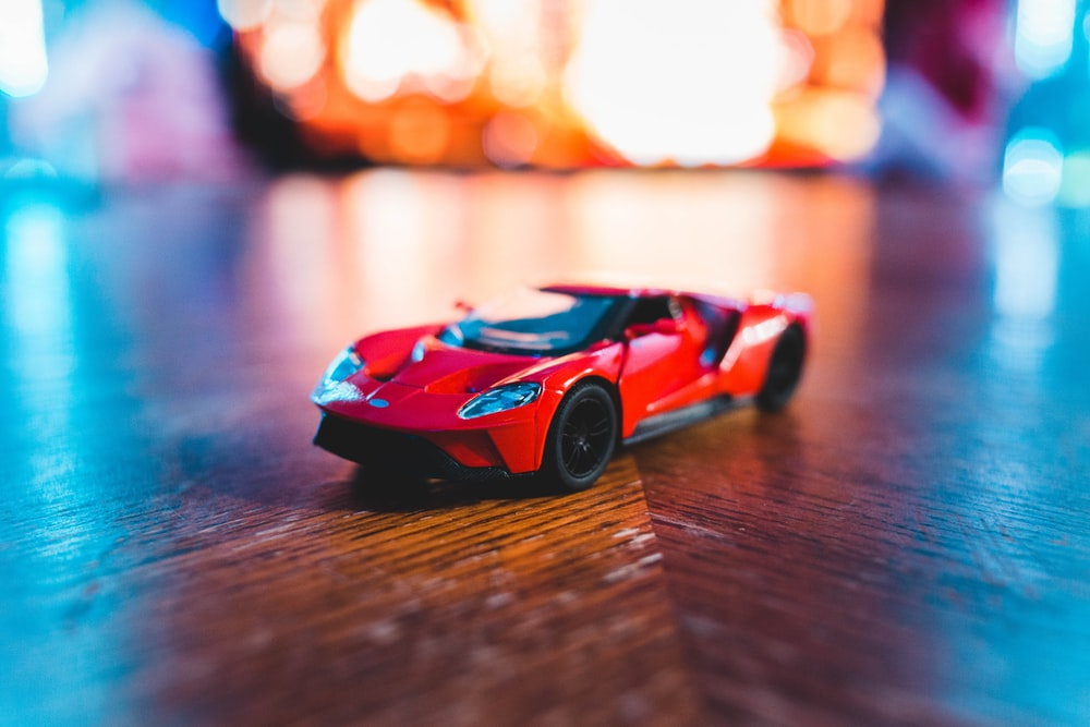 red toy coupe