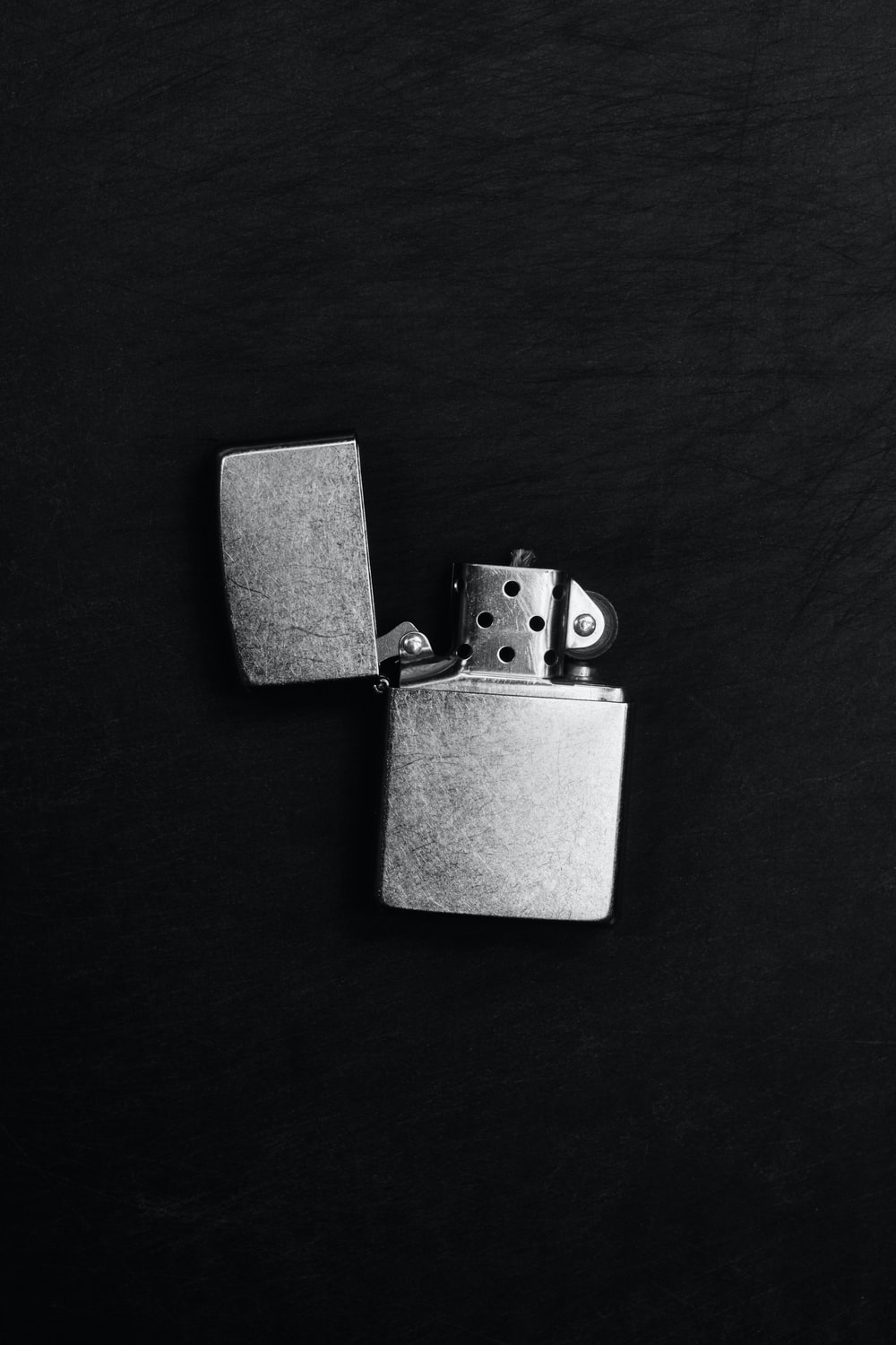 grey flip lighter