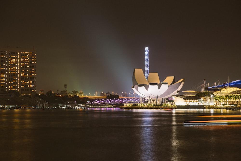 white lotus building at Sydney during daytime