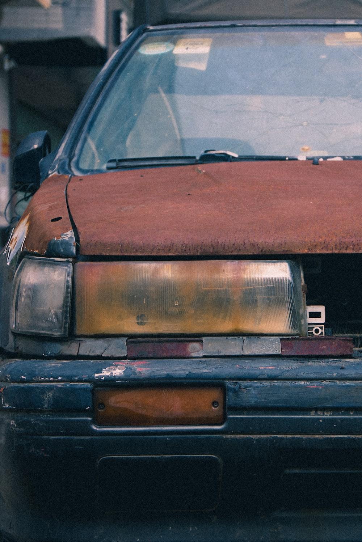 shallow focus photo of brown car