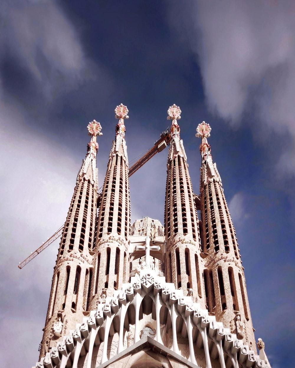 Sagrada Familia during daytime