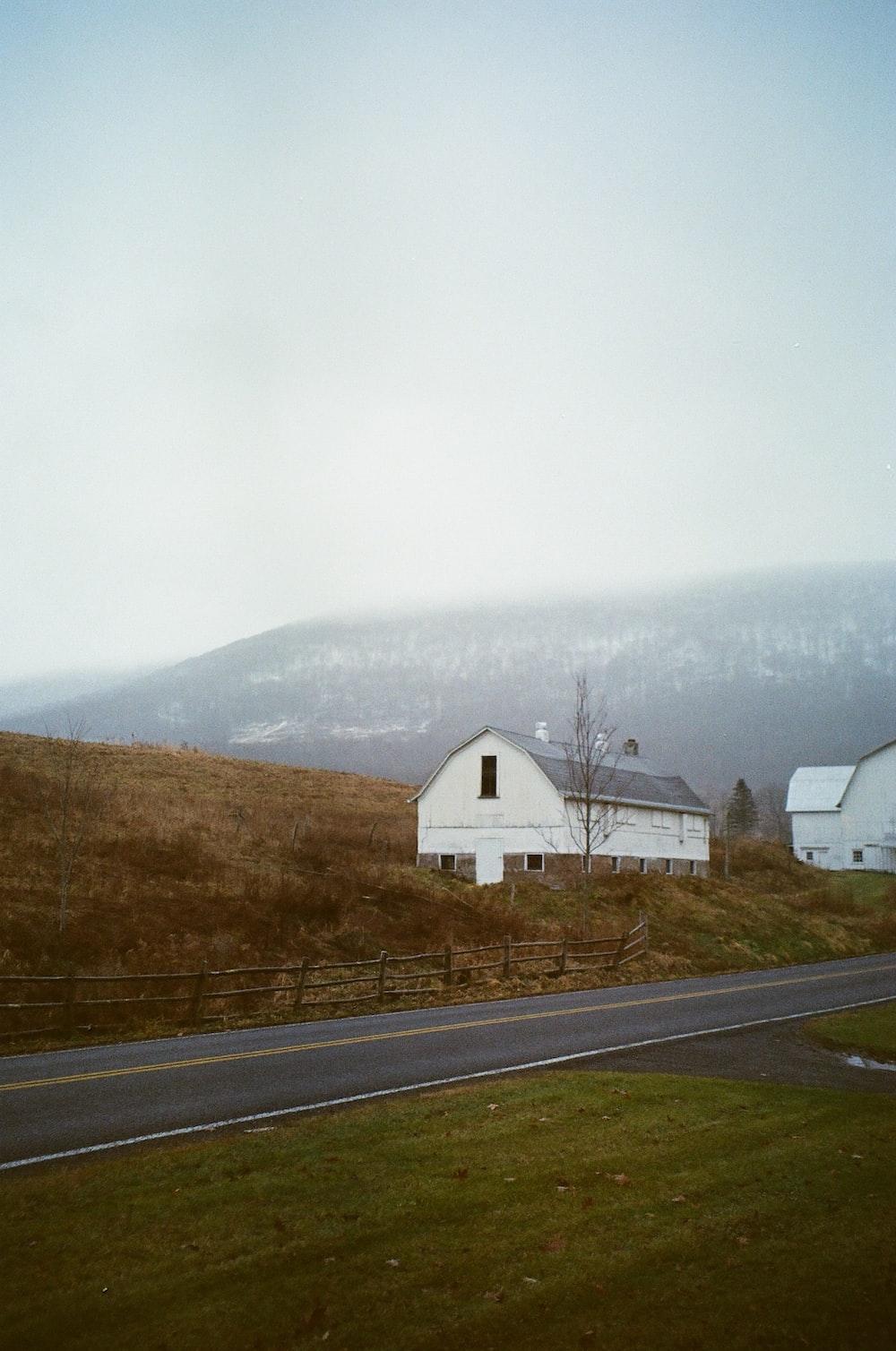storage house near road