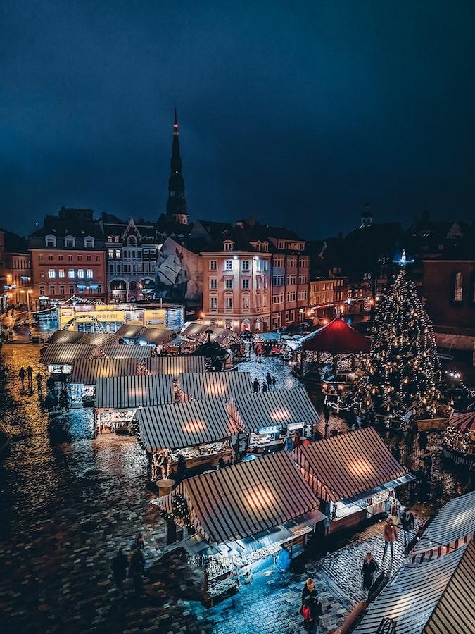 Dome square,Central Riga