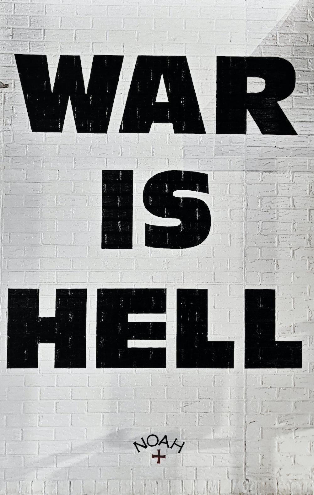 war is hell graffiti