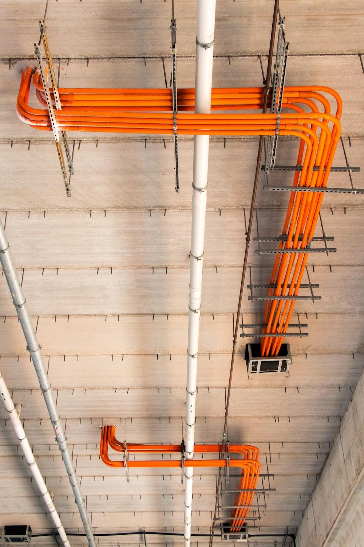 orange pipes