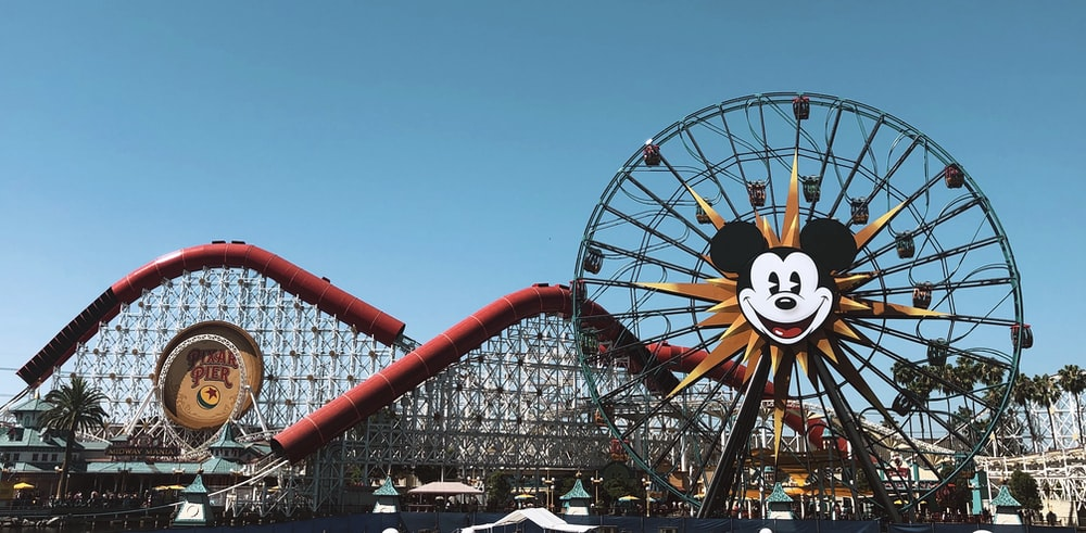 Mickey Mouse ferris wheel