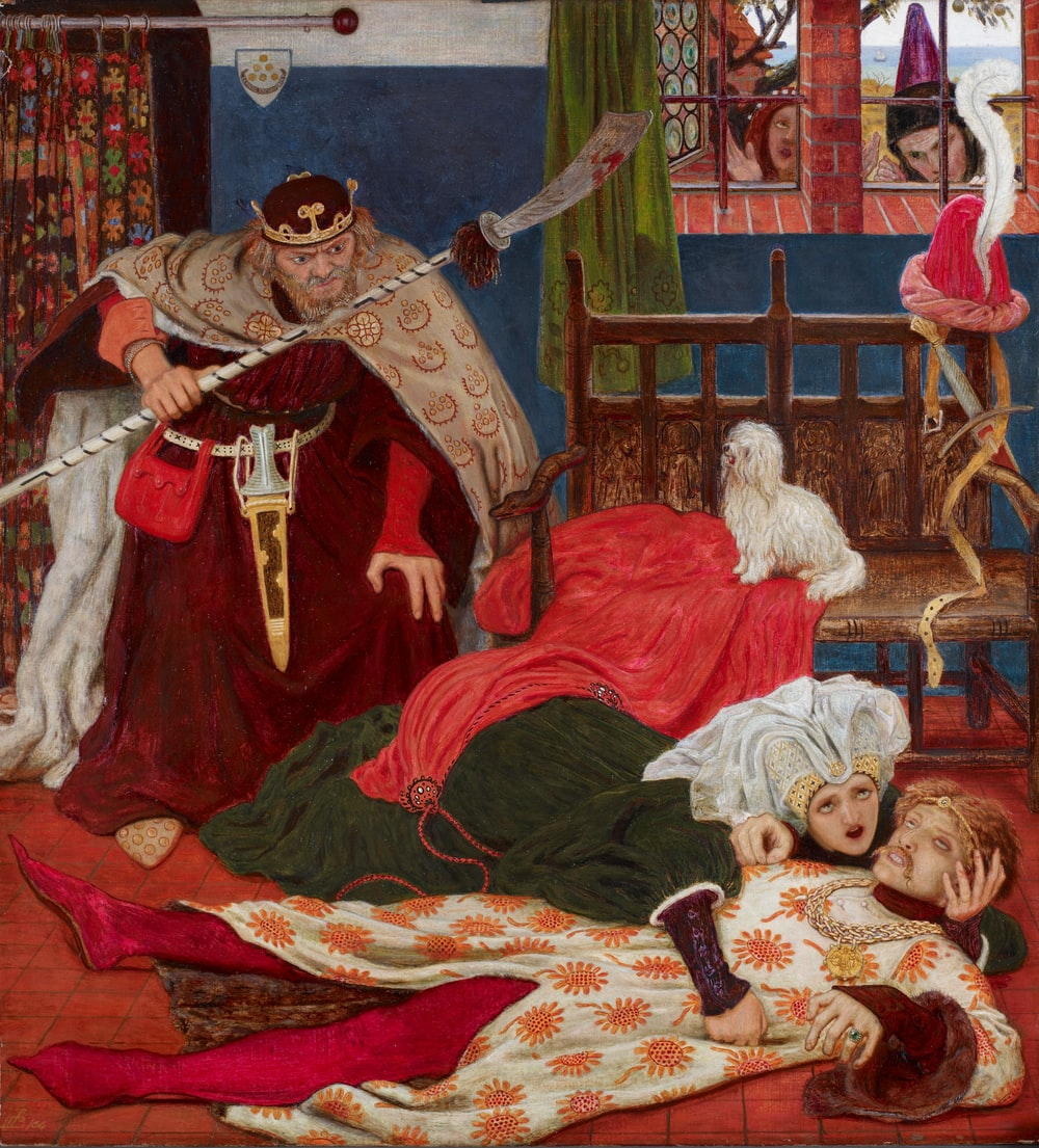 Ford Madox Brown painting
