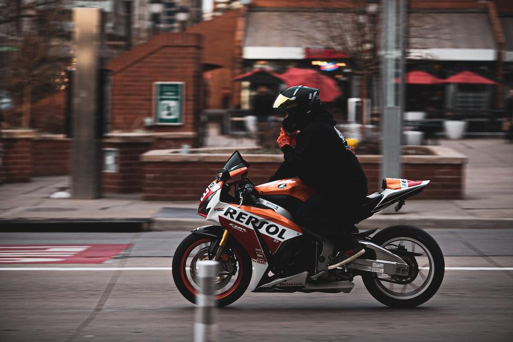man on Repsol sport bike