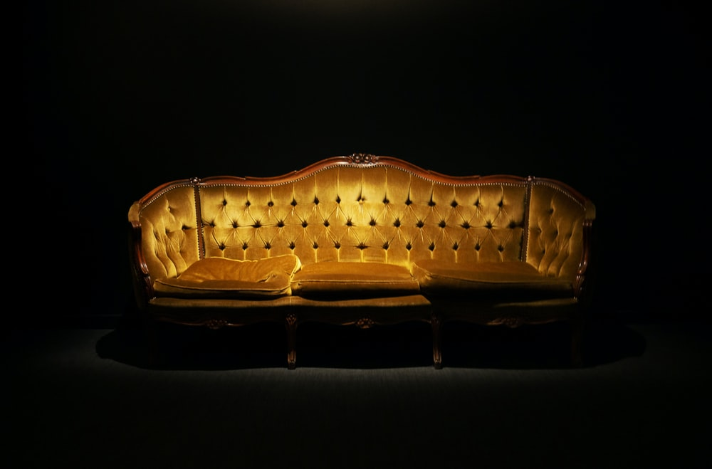 brown light fixture