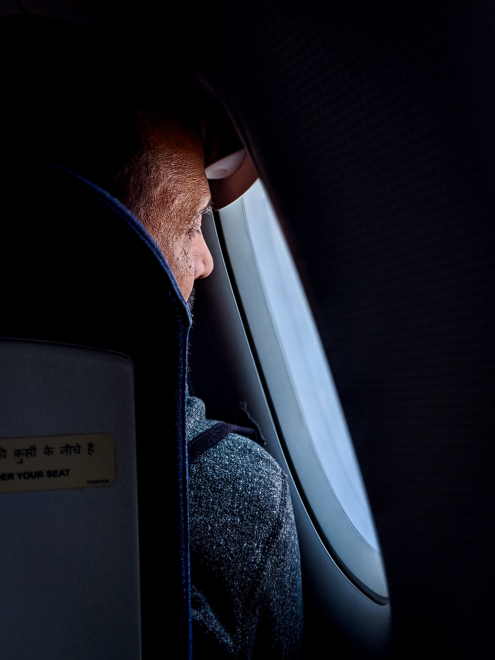 man in airliner