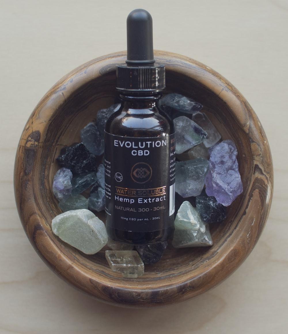 Evolution CBD Hemp Extract drop bottle