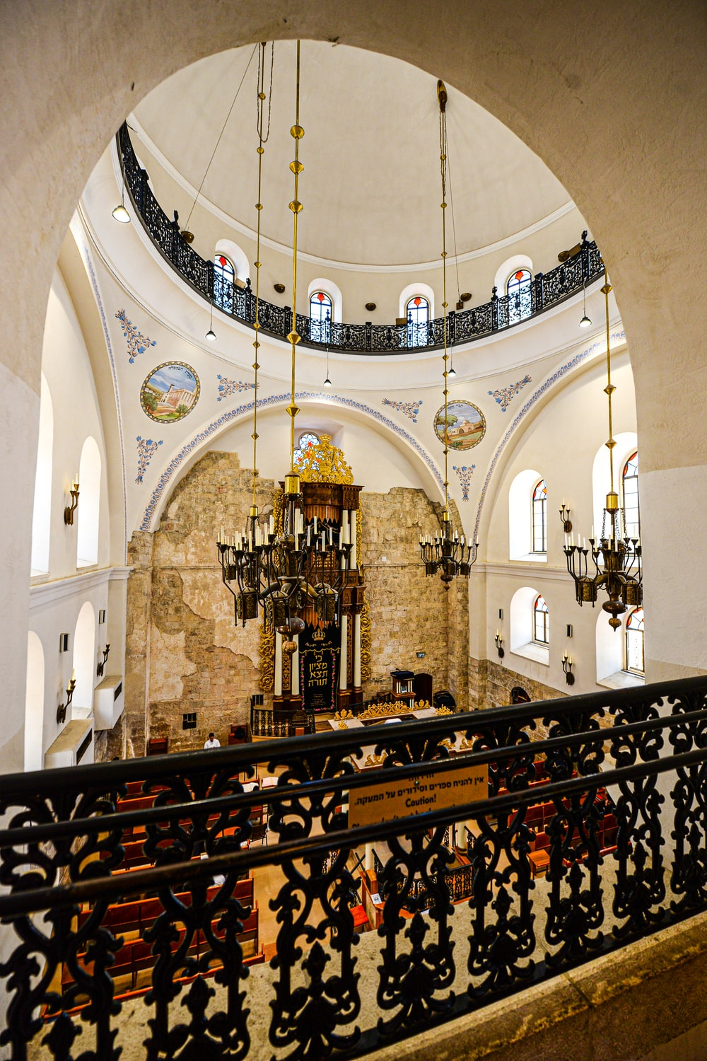 cathedral interior during day