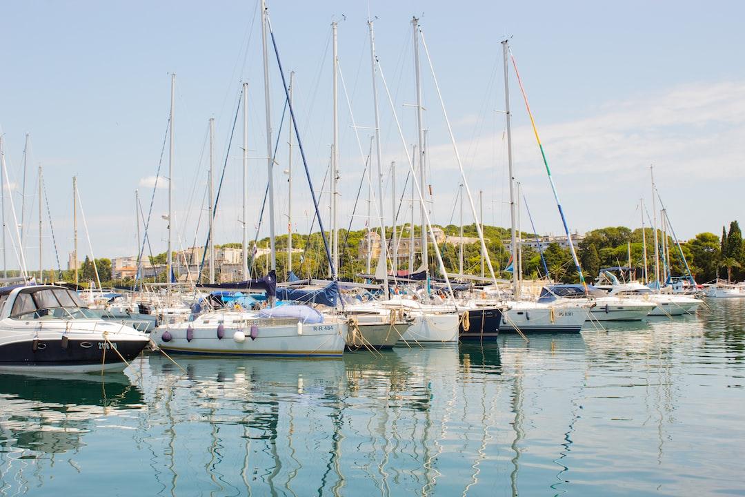 The harbor of Pula in Croatia — https://niels.to