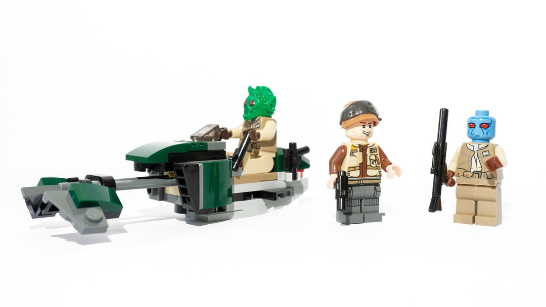 An exciting Lego Star Wars resistance squad.