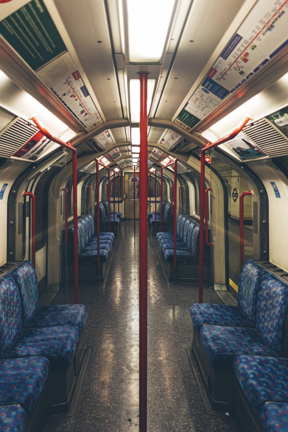 train in subway