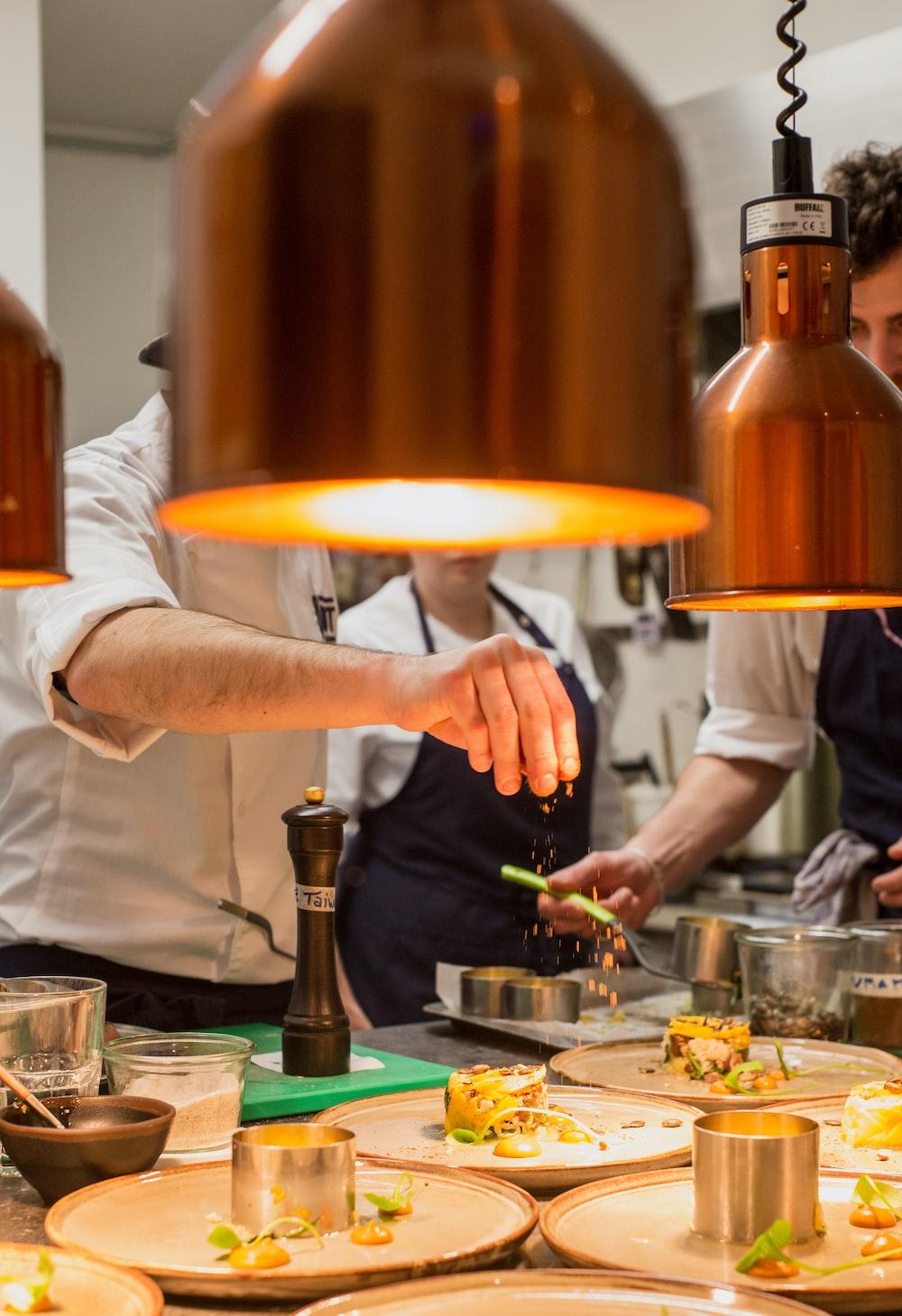 chef preparing foods