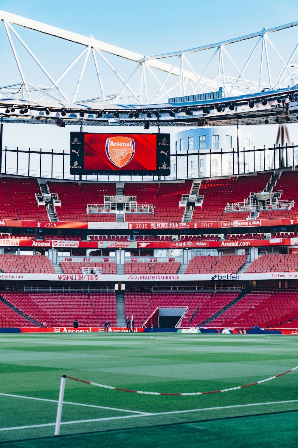Arsenal soccer stadium during daytime