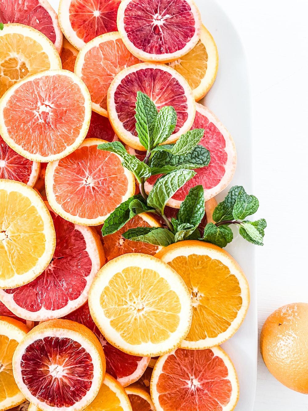 sliced orange