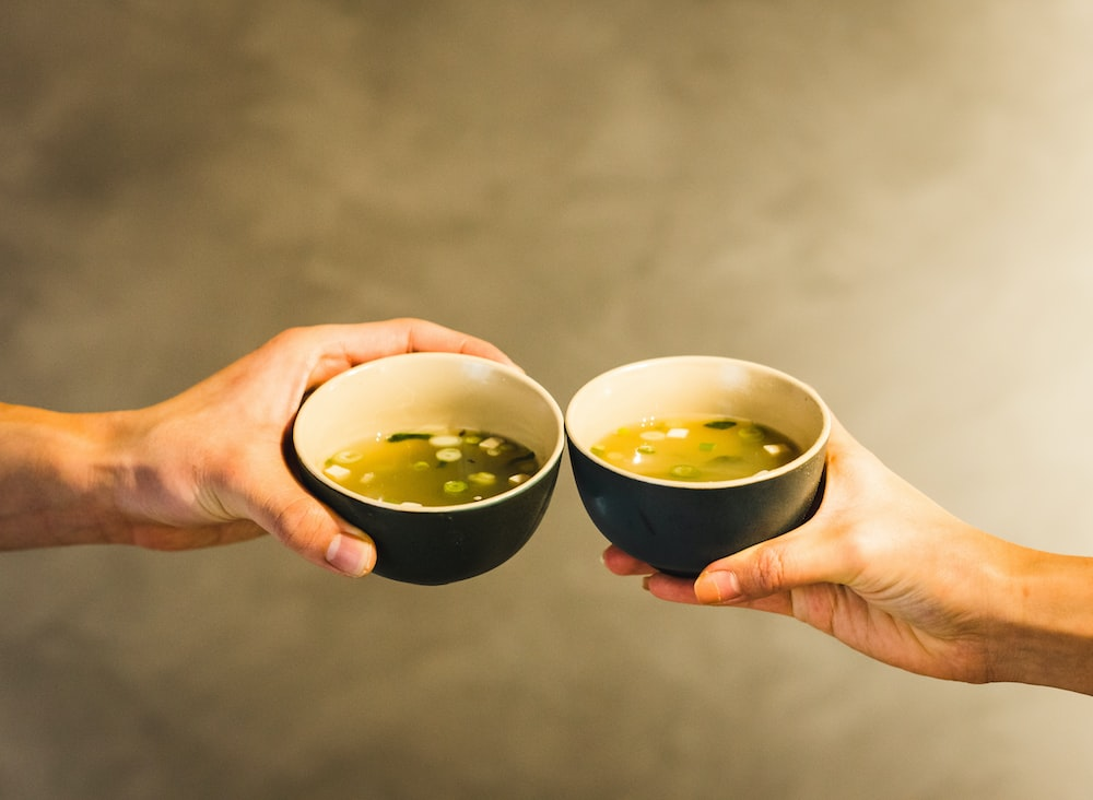 two cup of bowls
