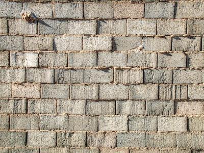 Another brick in the wall. Socuéllamos, Spain.
