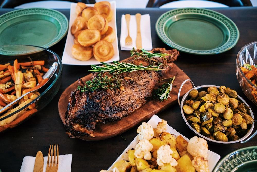 roasted meat set
