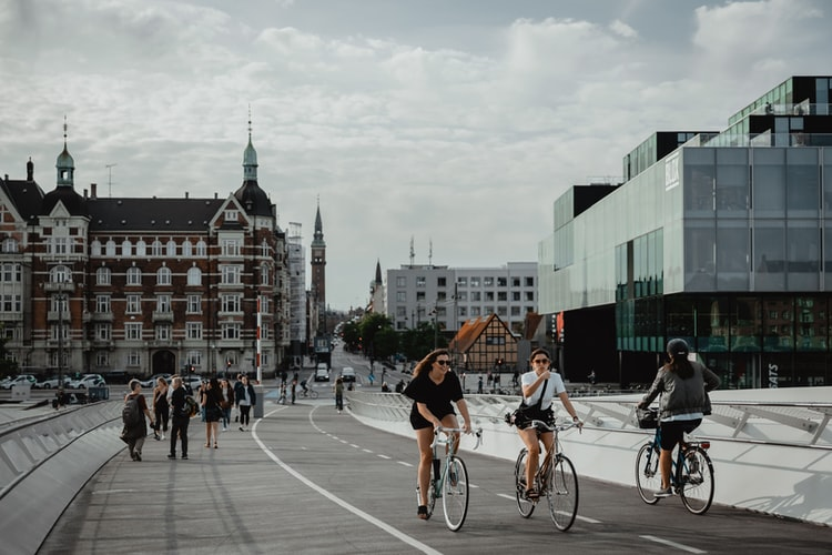 北欧 デンマーク 自転車