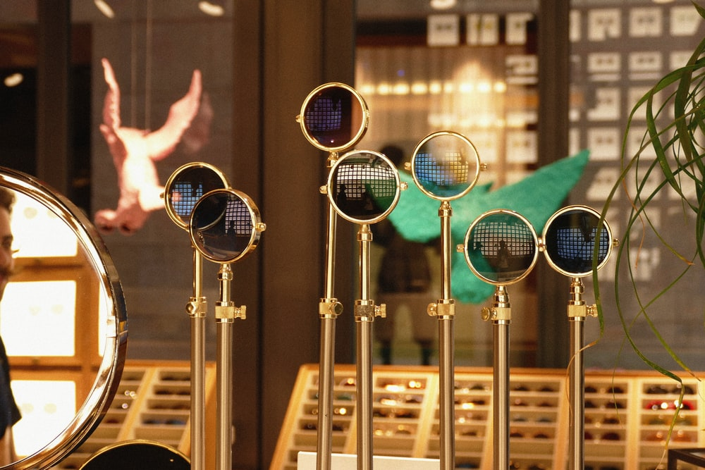 gold microphone condensers