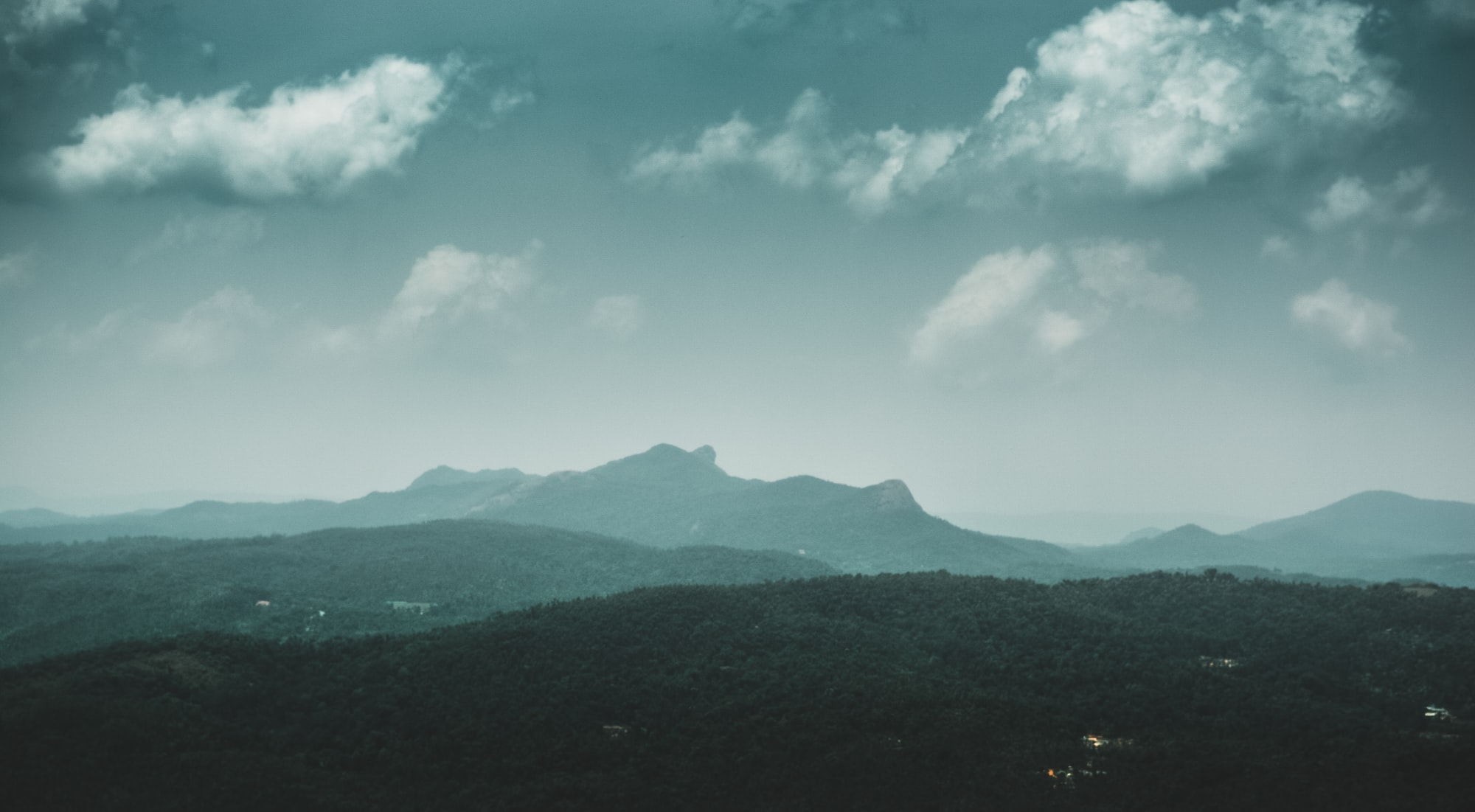 """""""The real voyage of discovery consists not in seeking new landscapes, but in having new eyes."""" Shot this at a quick stop while driving through the hills in Ooty, India."""
