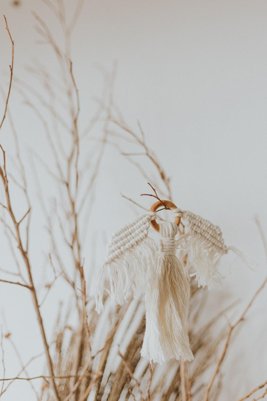 white angel decor