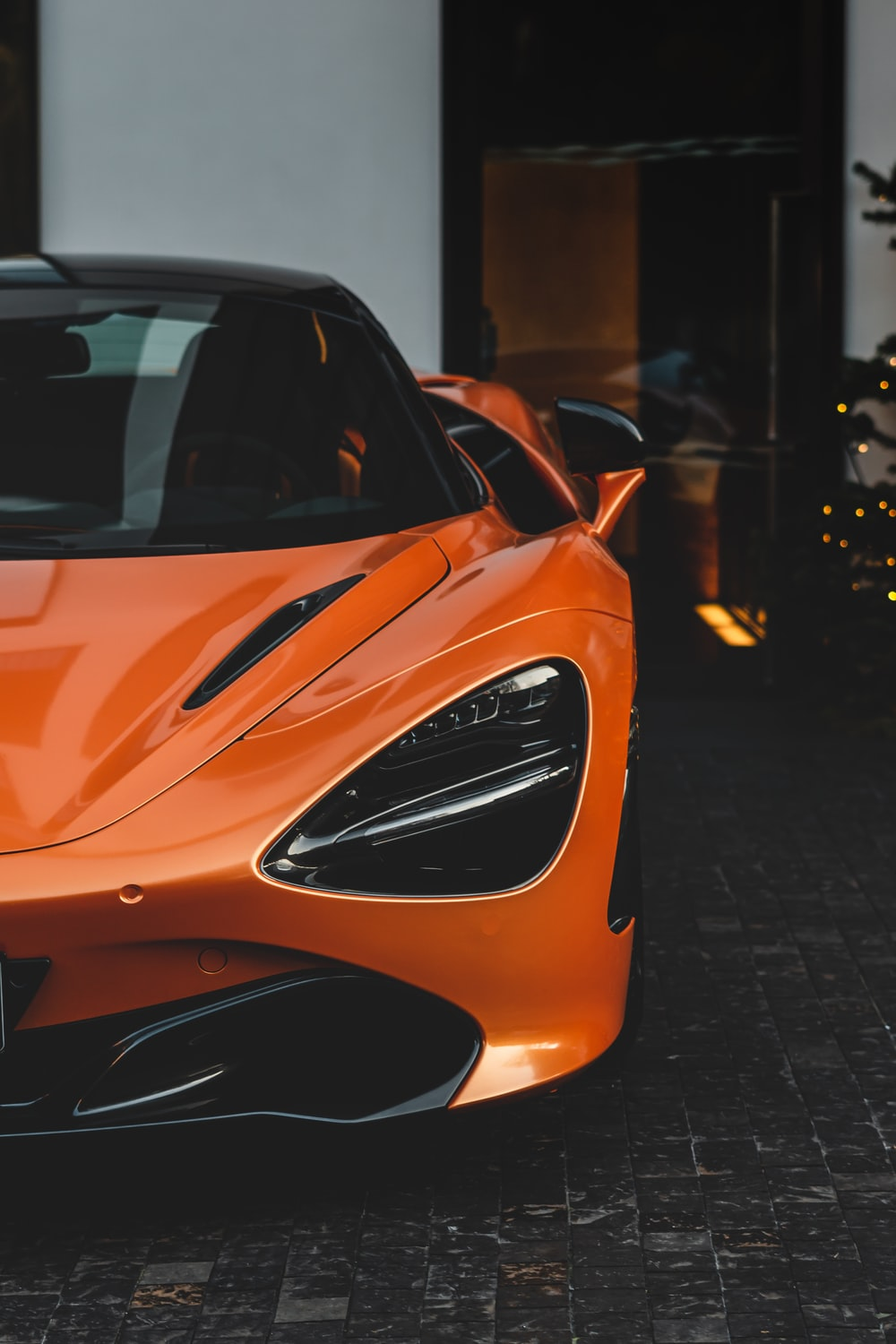 orange supercar