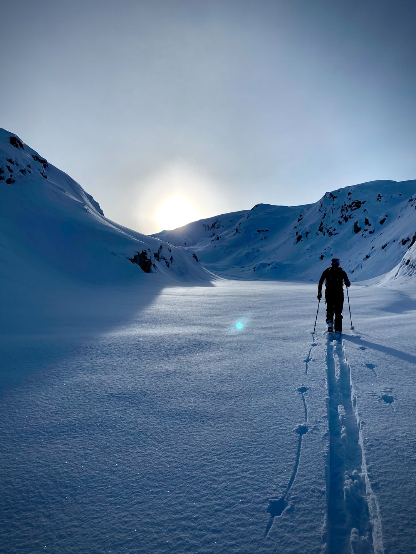 Backcountry ski in Arêches Beaufort.