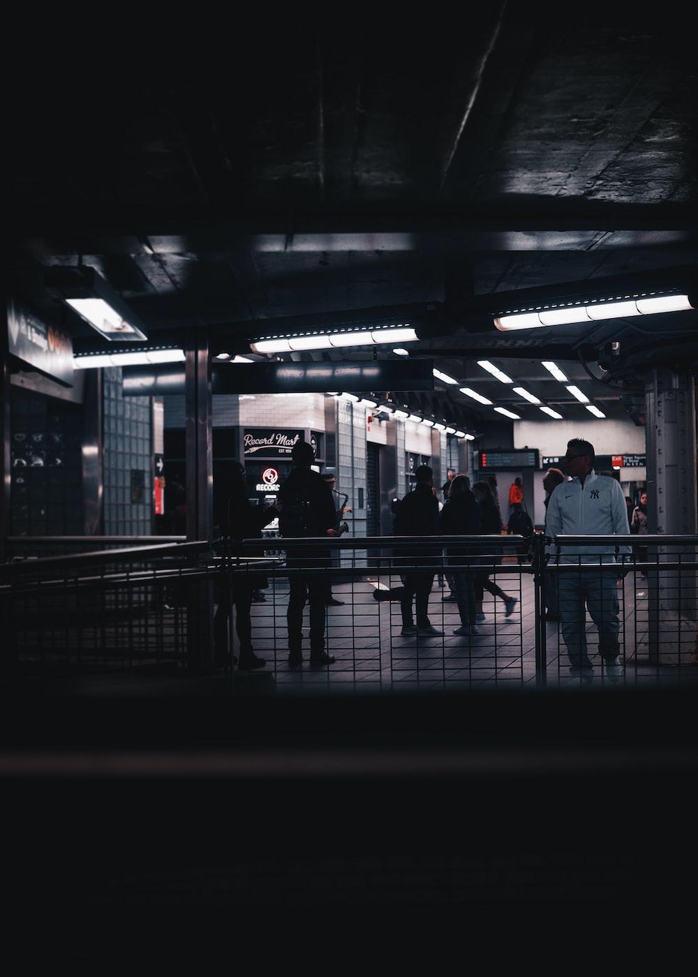 people inside building