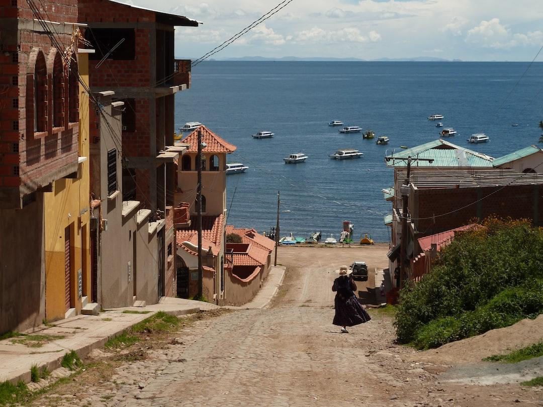 Lake Titicaca, Copacabana in Bolivia, 3800m  made by rouichi / switzerland