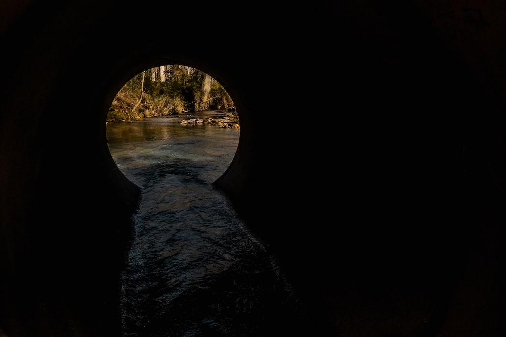 round hole drainage