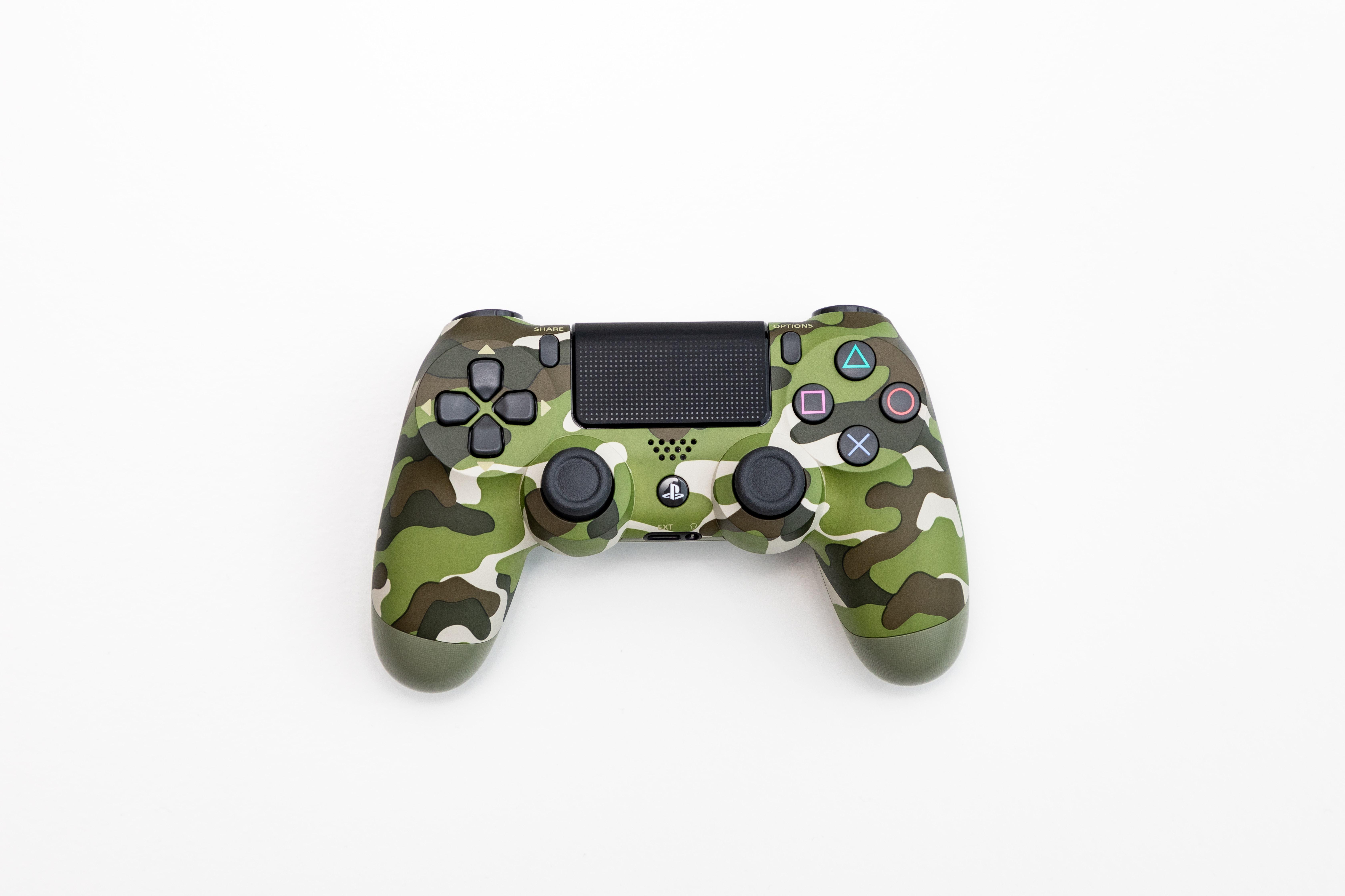 Camo PS4 controller